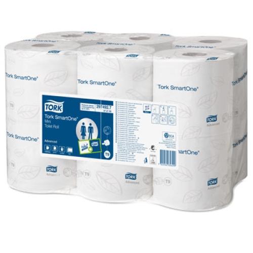 Tork smartone mini toilet tissue 2ply x 12 t9 in paper - Mini commode plastique ...