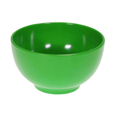 "Swixz Melamine Cereal Bowl 5"" / 125mm 6 Pack - Colour: Green"
