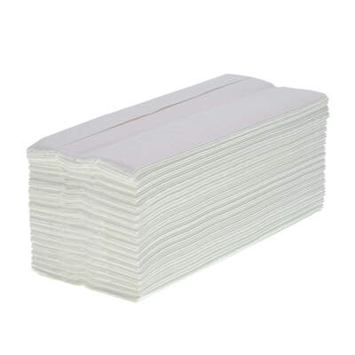 C Fold Paper Hand Towel White 2ply 4860 Double Pack