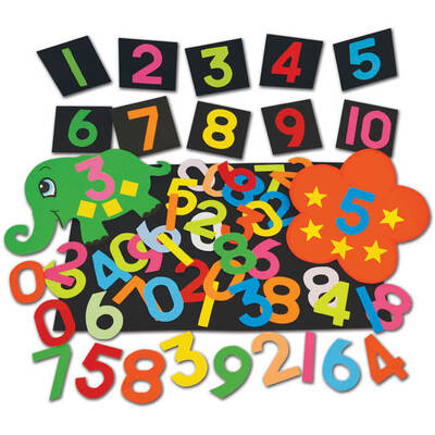 Paper Numbers 1000 Pack