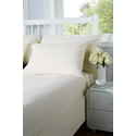 Everyday Single Fitted Sheet Ivory 91cm x 191cm
