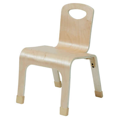 One Piece Bent Chair 4 Pack - Height: 260mm