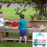 Outdoor Mud Kitchen Large