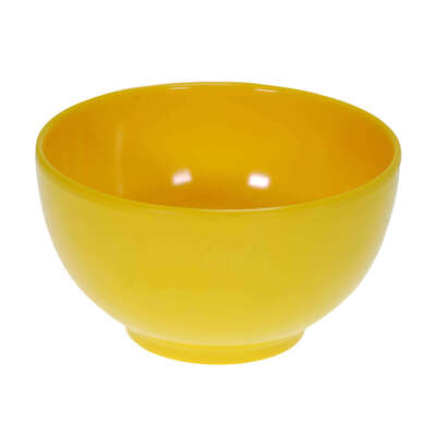"Swixz Melamine Cereal Bowl 5"" / 125mm 6 Pack - Colour: Yellow"