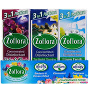 Zoflora Disinfectant 120ml Assorted 12 Pack