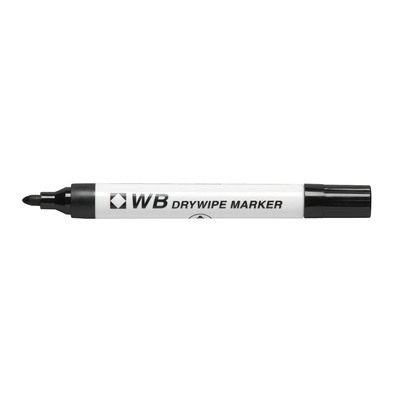 Drywipe Markers Black Box 100