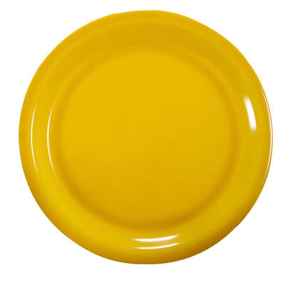 "Gompels Super Tuff Dinner Plate 9"" / 230mm 12pk - Colour: Yellow"