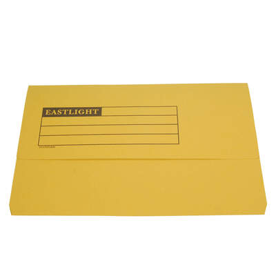Document Wallet A4 - Colour: Yellow