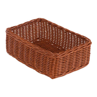 Wicker Storage Baskets Small 12 Pack