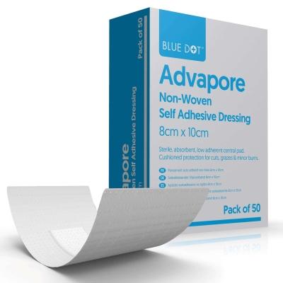 Self Adhesive Sterile Dressing Pad - Size: 8cm X 10cm
