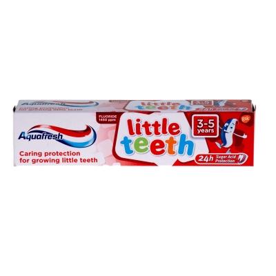 Aquafresh Little Teeth Toothpaste 3-5 Years 50ml