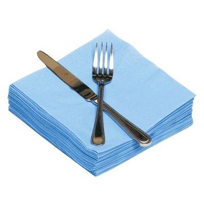 Napkins 33cm 2ply Cornflower Blue 100