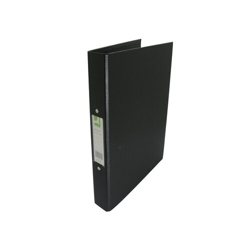 a4 ring binder black plastic in stationery supplies