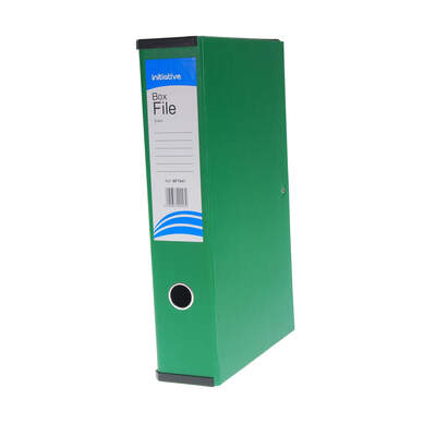 Box File Foolscap A4 - Colour: Green