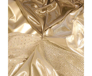 Silver Fabric Pack Assorted 5 x 1m