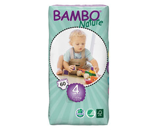 Bambo Nature Maxi Size 4 Nappies 60