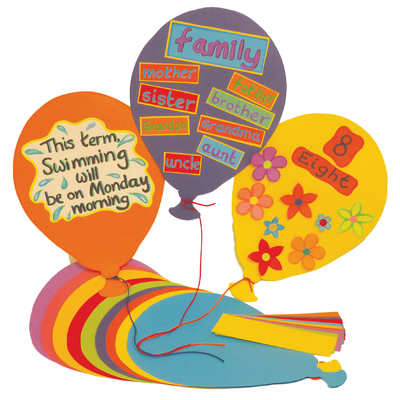 Jumbo Display Balloons 20 Pack