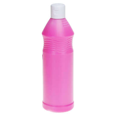 Ready Mixed Fluorescent Poster Paint 600ml - Colour: Pink