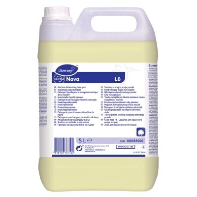 Suma Nova L6 Alkaline Liquid Detergent 5l x 2