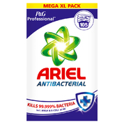 Ariel Antibacterial Powder 105 Wash 6.825kg