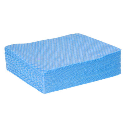Cleaning Cloth 50 Pack - Colour: Blue