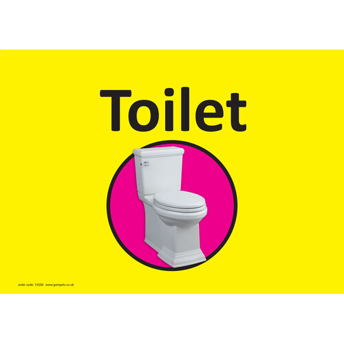 Dementia Sign Toilet Bathroom A4 In Care Home Equipment