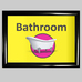 Dementia Sign Toilet/Bathroom A4