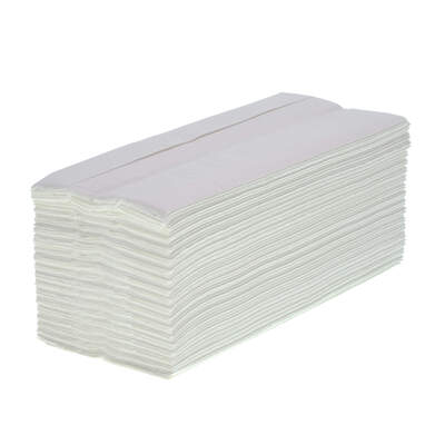 Soclean C Fold White Paper Towels Pure 2ply 2430