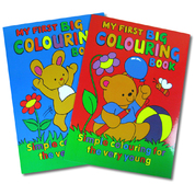 My First Big Colouring Book Assorted 12 Pack