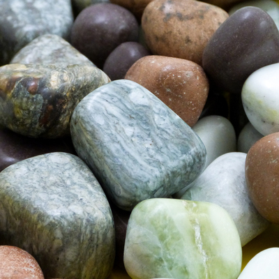 Polished Stones Assorted Small 1kg