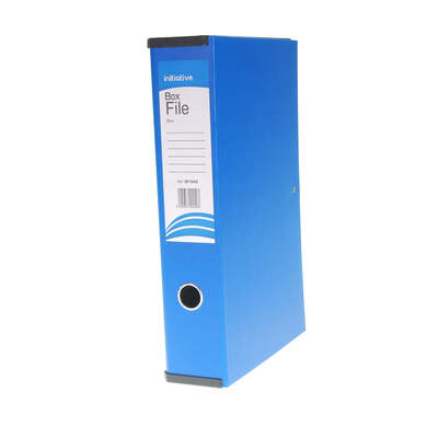 Box File Foolscap A4 - Colour: Blue