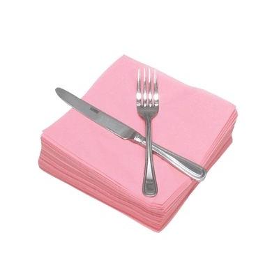Napkins 33cm 2ply Pink 100