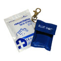Resuscitation Shield In Keyring Pouch