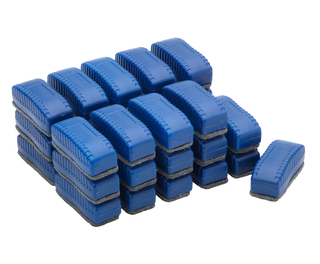 Mini Magnetic Whiteboard Erasers Box 30