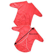 Childrens Play Apron Red 70cm