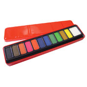 12 Block Watercolour Paint Set