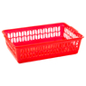 Small Storage Basket Red