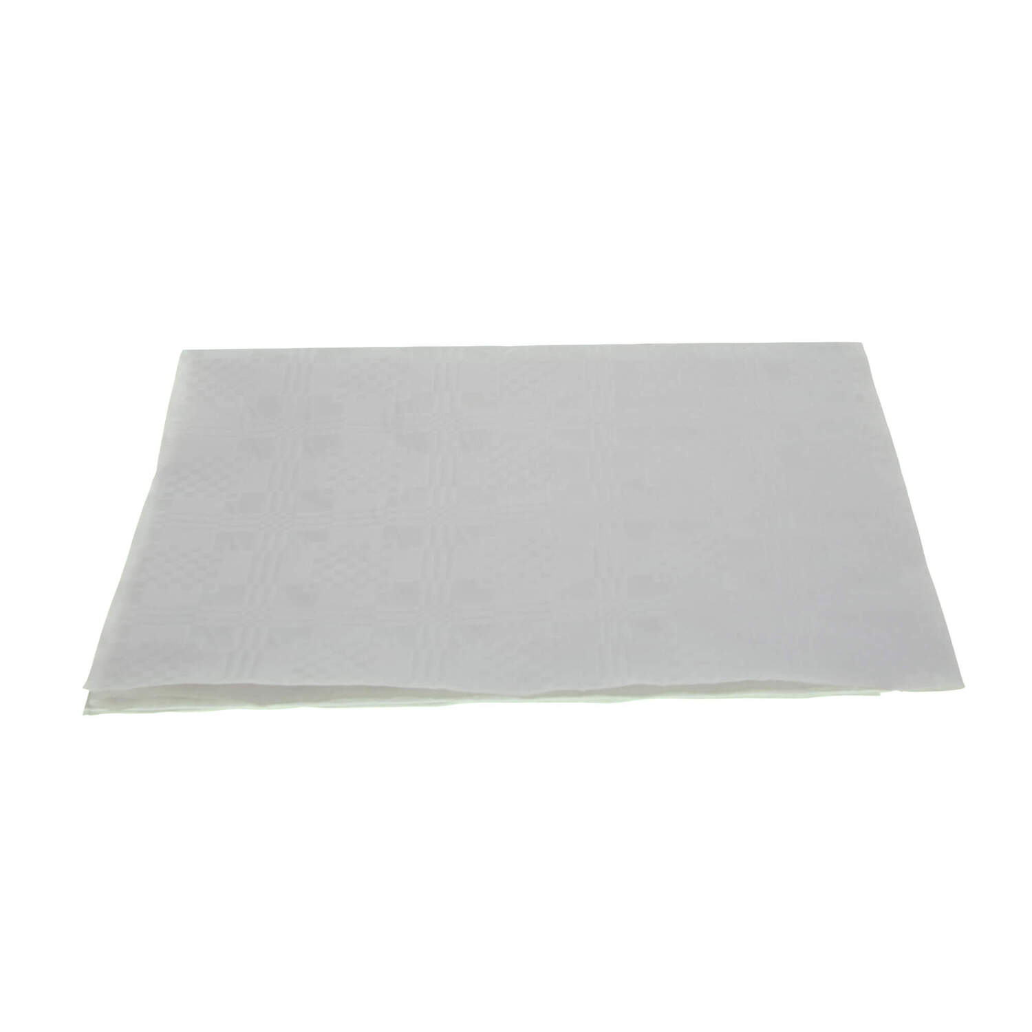 225 & Disposable Table Covers White 90 x 90cm 25pk