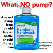 Handex Hand Wash 500ml 12 Pack Capped