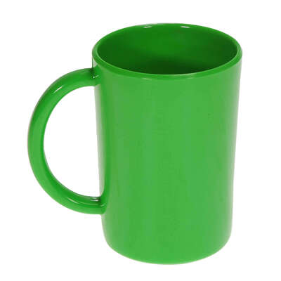 Gompels Super Tuff Handled Mug 10oz 6pk - Colour: Green