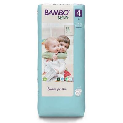 Bambo Nature Maxi Size 4 Nappies 48