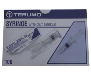 Terumo 2ml Syringe Concentric Luer Slip 100