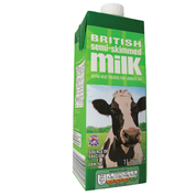 Semi Skimmed Long Life Milk 1ltr