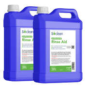Soclean Dishwasher Rinse Aid 5 Litre 2 Pack