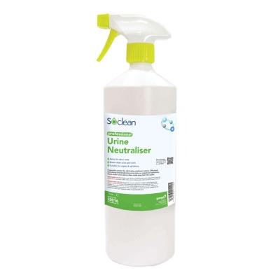 Soclean Urine Neutraliser Trigger Spray 1 Litre 6 Pack