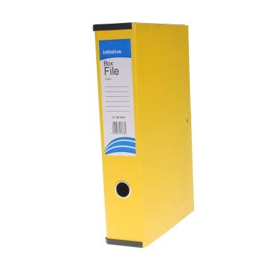 Box File Foolscap A4 - Colour: Yellow