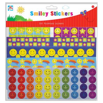 Reward Stickers Smiley 300 Pack