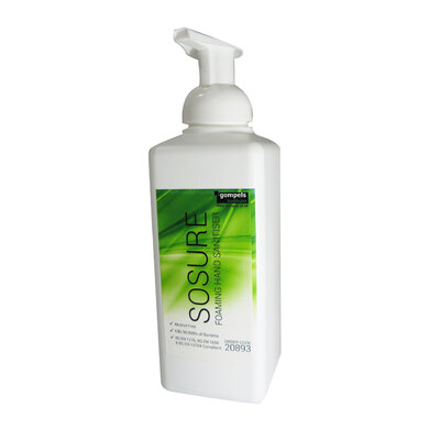 Sosure Foaming Hand Mousse 600ml