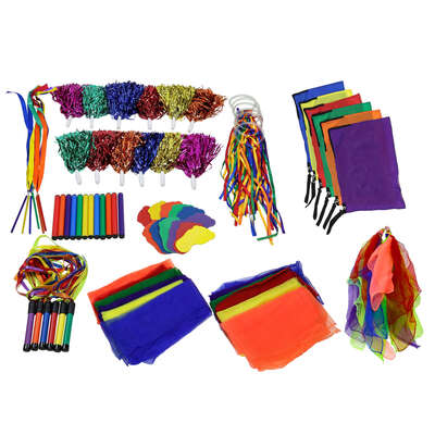 Rainbow Colour Dance 66 Pack