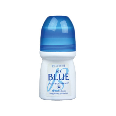 Pampered Anti-Perspirant Roll On Ice Blue 12